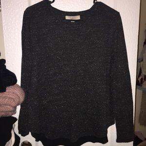 LOFT Mixed Media Sweater